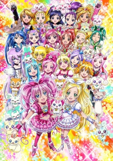 Pretty Cure All Stars DX3 - Rainbow Flower to the Future