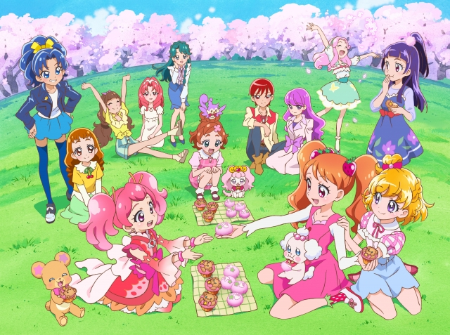 (c)2017 Pretty Cure Dream Stars The Movie Production Committee
